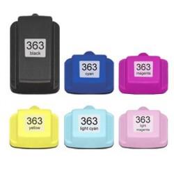 pack de 6 cartouches compatibles HP363